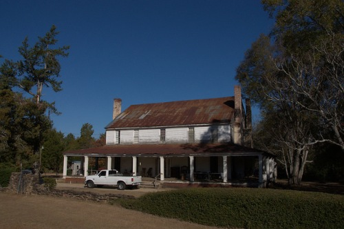Plantation House Bath Community Richmond County GA Photograph Copyright Brian Brown Vanishing South Georgia USA 2014