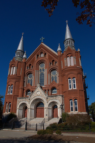 Sacred Heart Catholic Church Cultural Center Augusta GA Richmond County Architectural Masterpiece Photograph Copyright Brian Brown Vanishing South Georgia USA 2014