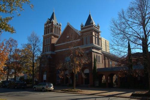 St John United Methodist Church Augusta GA Photograph Copyright Brian Brown Vanishing South Georgia USA 2014