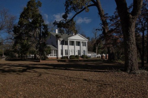 Tranquilla Place Antebellum House Hephzibah GA Richmond County Photograph Copyright Brian Brown Vanishing South Georgia USA 2014