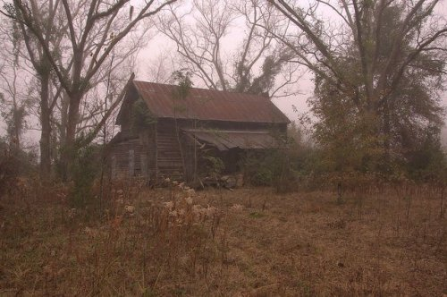 Long County GA Abandoned 19th Century Vernacular Farmhouse Photograph Copyright Brian Brown Vanishing South Georgia USA 2014