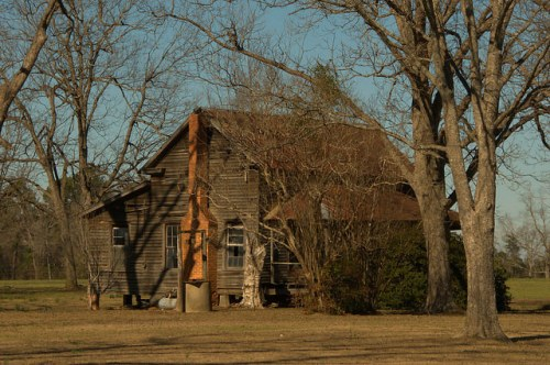 Denmark GA Bulloch County Vernacular Farmhouse Photograph Copyright Brian Brown Vanishing South Georgia USA 2015