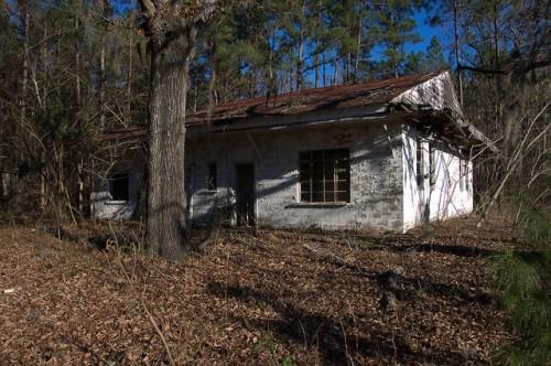 Piney Pig Juke Joint Highway 301 Long County GA Abandoned Roadside Americana Photograph Copyright Brian Brown Vanishing South Georgia USA 2015