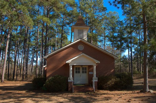 Raines GA Crisp County Nancy Williams Memorial Methodist Church Photograph Copyright Brian Brown Vanishing South Georgia USA 2015