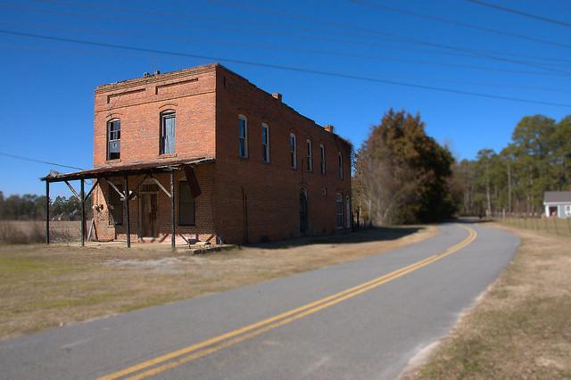 Raines GA Crisp County Williams General Store Ghost Town Photograph Copyright Brian Brown Vanishing South Georgia USA 2015