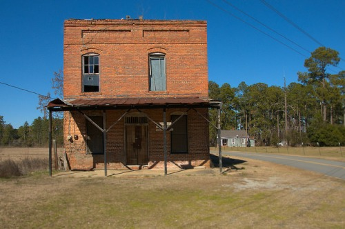 Raines GA Crisp County Williams General Store Photograph Copyright Brian Brown Vanishing South Georgia USA 2015
