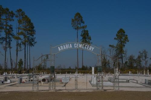 Arabia Cemetery Clinch County GA Photograph Copyright Brian Brown Vanishing South Georgia USA 2015