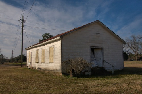Doles GA Worth County Abandoned Church of Christ Photograph Copyright Brian Brown Vanishing South Georgia USA 2015