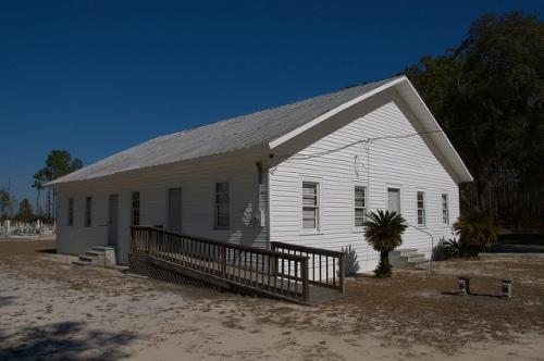 Historic Bethany Primtive Baptist Church Clinch County GA Photograph Copyriht Brian Brown Vanishing South Georgia USA 2015