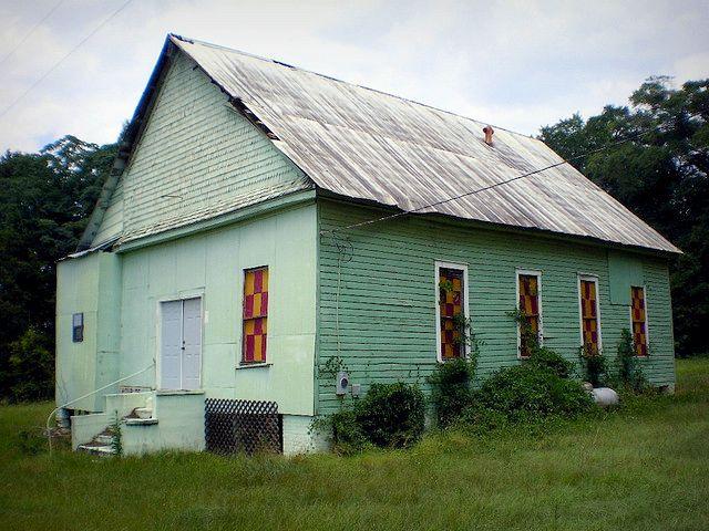 Hour of Prayer Randolph County GA Photograph Copyright Brian Brown Vanishing South Georgia USA 2015