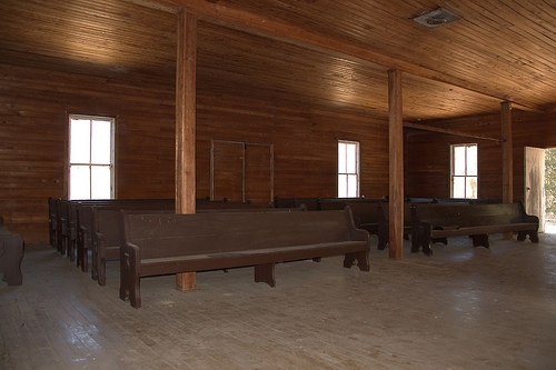 Ramah Church Homerville Area GA Photograph Copyright Brian Brown Vanishing South Georgia USA 2015