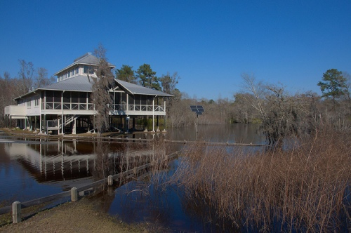 Suwannee River Visitors Center Fargo GA Photograph Copyright Brian Brown Vanishing South Georgia USA 2015