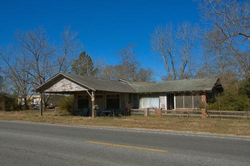 Wahoma GA Ware County Roadside Store Photograph Copyright Brian Brown Vanishing South Georgia USA 2015