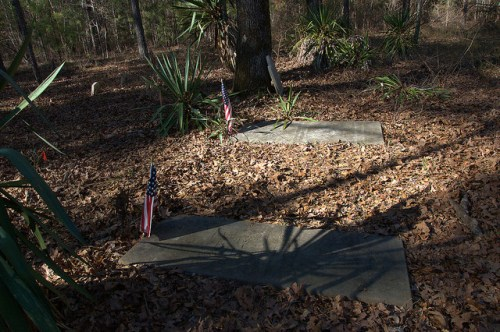 Governor Jared Irwin Grave Irwin Family Cemetery Washington County GA Photograph Copyright Brian Brown Vanishing South Georgia USA 2015