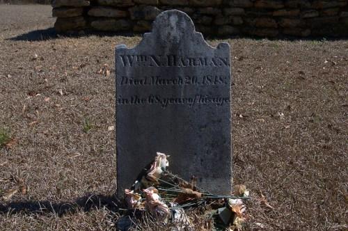 Jacksons Baptist Church Washington County GA Cemetery William N Harman Photograph Copyright Brian Brown Vanishing South Georgia USA 2015