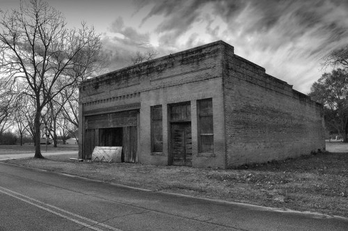 Oakfield GA Worth County Ghost Town Abandoned Stores Photograph Copyright Brian Brown Vanishing South Georgia USA 2015