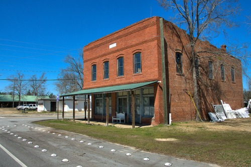 Riddleville GA Washington County J Y Bryan & Sons Mercantile Photograph Copyright Brian Brown Vanishing South Georgia USA 2015