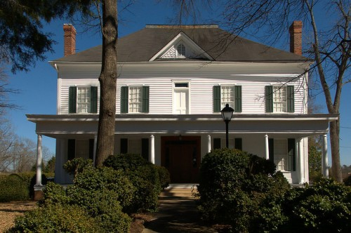 Sandersville GA Historic Brown House Museum Photograph Copyright Brian Brown Vanishing South Georgia USA 2015