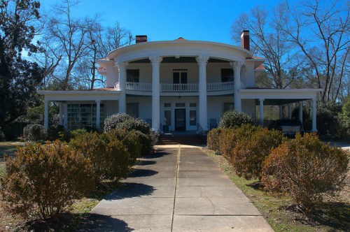 Sandersville GA Historic District Photograph Copyright Brian Brown Vanishing South Georgia USA 2015