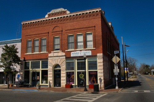 Sandersville GA Holt Brothers Banking Company Photograph Copyright Brian Brown Vanishing South Georgia USA 2015