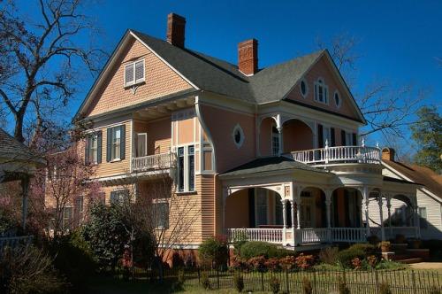 Sandersville GA Paris Elkins House Photograph Copyright Brian Brown Vanishing South Georgia USA 2015