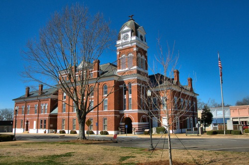 Washington County GA Courthouse Photograph Copyright Brian Brown Vanishing South Georgia USA 2015
