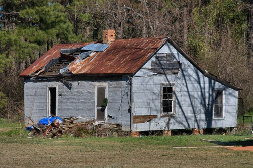 Washington County GA Tennille Area Tenant Farmhouse Tar Paper Photograph Copyright Brian Brown Vanishing South Georgia USA 2015