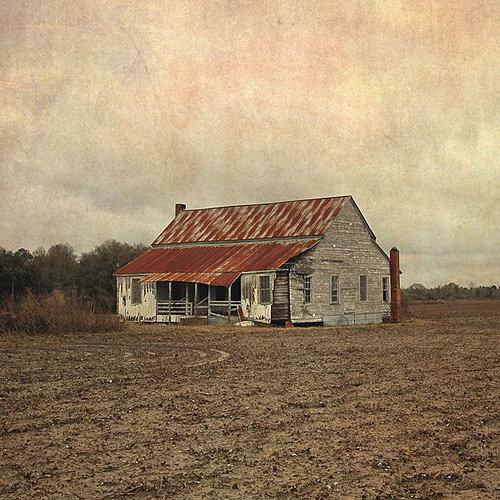 Appling County GA Abandoned Farmhouse Razed in 2014 Photograph Copyright Brian Brown Vanishing South Georgia USA 2015