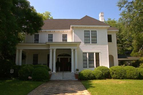 Historic Americus GA Classical House Photograph Copyrigh Brian Brown Vanishing South Georgia USA 2015