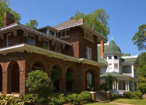Historic Americus GA Glover Hooks House Photograph Copyrigh Brian Brown Vanishing South Georgia USA 2015