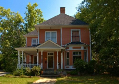 Historic Americus GA Photograph Copyright Brian Brown Vanishing South Georgia USA 2015