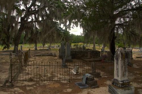 Historic Cedar Creek Baptist Church Cemetery Wilcox County GA Photograph Copyright Brian Brown Vanishing South Georgia USA 2015