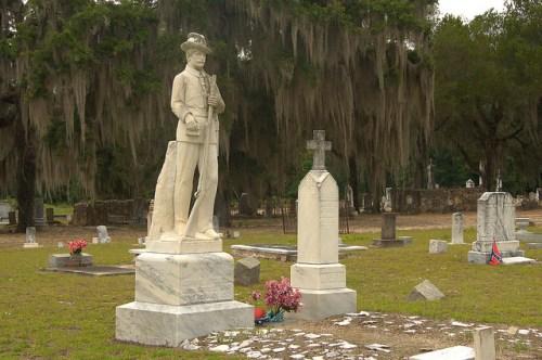 Major John B Mitchell CSA Memorial Cedar Creek Baptist Church Cemetery Wilcox County GA Photograph Copyright Brian Brown Vanishing South Georgia USA 2015