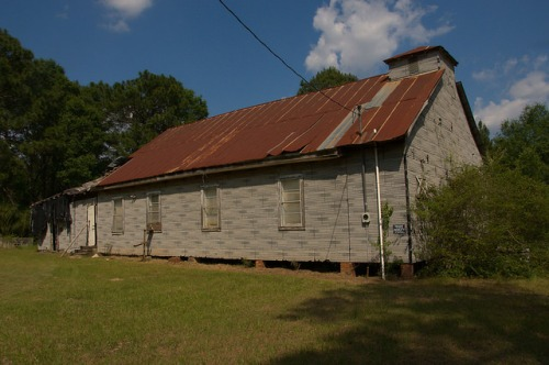 Crisp County GA Hatley Area Unidentified Vernacular Church Photograph Copyright Brian Brown Vanishing South Georgia USA 2015