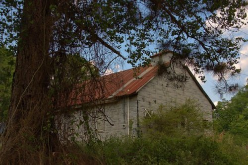 Crisp County GA Hatley Area Vernacular Church Photograph Copyright Brian Brown Vanishing South Georgia USA 2015