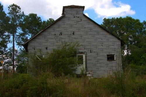 Crisp County GA Tar Paper Church Photogaph Copyright Brian Brown Vanishing South Georgia USA 2015