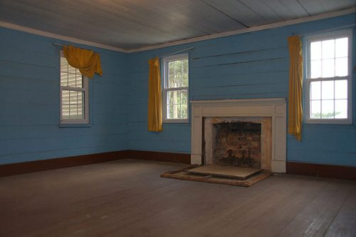 Horne Farm House 1850s Long County GA Upstairs Bedroom Photograph Copyright Brian Brown Vanishing South Georgia USA 2015