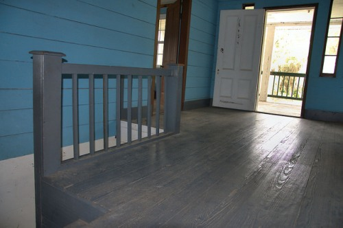 Horne Farm House Antebellum Long County GA Upstairs Landing Photograph Copyright Brian Brown Vanishing South Georgia USA 2015