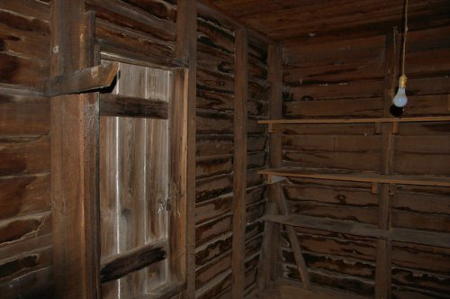 Horne Farm House Plantation Long County GA Root Cellar Room Photograph Copyright Brian Brown Vanishing South Georgia USA 2015