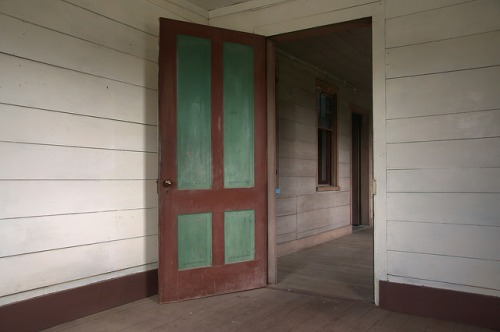 Horne House Long County GA Upstairs Spare Room Photograph Copyright Brian Brown Vanishing South Georgia USA 2015