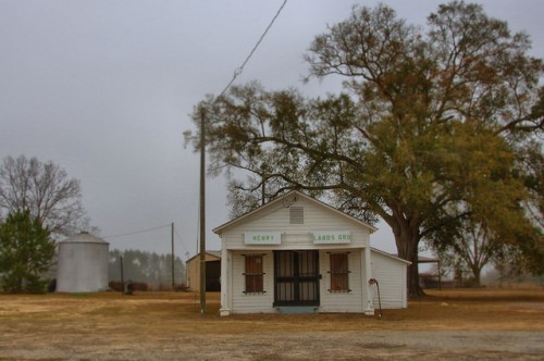 Lands Crosing GA Irwin County Henry Lands Store December 2013 Photograph Copyright Brian Brown Vanishing South Georgia USA 2015