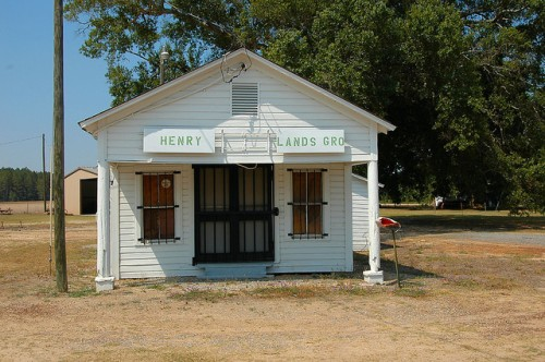 Lands Crossing GA Irwin County Henry Lands Grocery June 2011 Photograph Copyright Brian Brown Vanishing South Georgia USA 2015