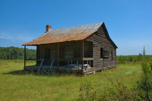 Long County GA Tenant Farmhouse Photograph Copyright Brian Brown Vanishing South Georgia USA 2015