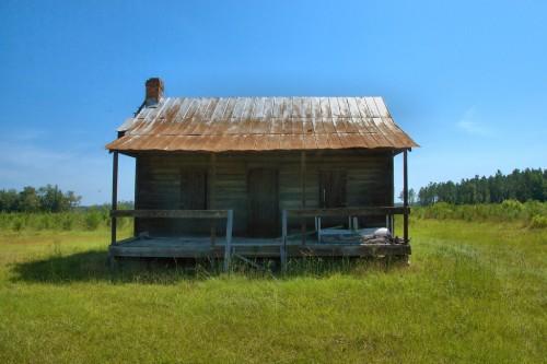 Long County GA Tenant Sharecropper Farmhouse Photograph Copyright Brian Brown Vanishing South Georgia USA 2015