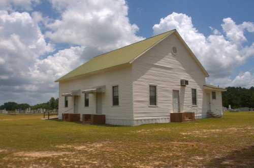 Ramah Primitive Baptist Church Pierce County GA Photograph Copyright Brian Brown Vanishing South Georgia USA 2015