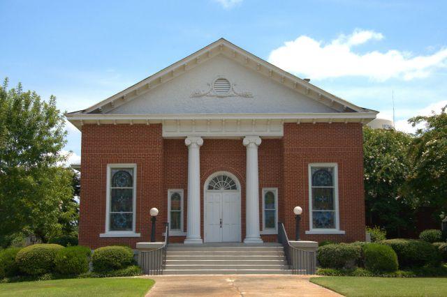Buena Vista United Methodist Church Marion County GA Photograph Copyright Brian Brown Vanishing South Georgia USA 2015