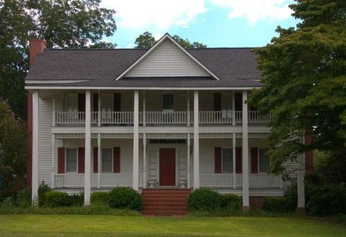 Candler County GA Farmhouse Photograph Copyright Brian Brown Vanishing South Georgia USA 2015