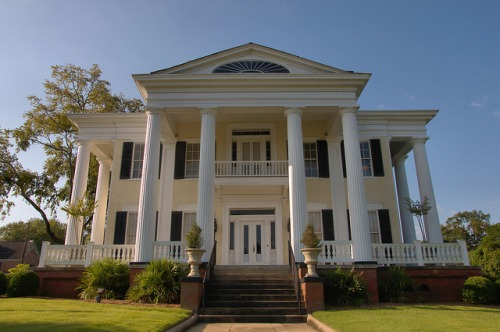 Columbus GA Robert Wynn House Oakview Antebellum Mansion Photograph Copyright Brian Brown Vanishing South Georgia USA 2015