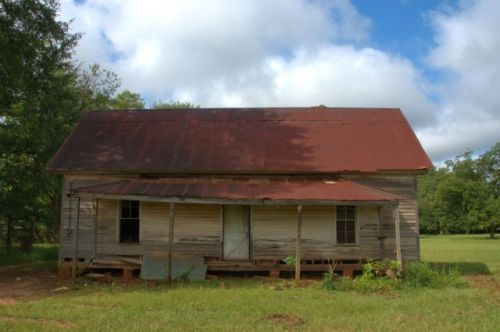 Draneville GA Marion County Farmhouse Photograph Copyright Brian Brown Vanishing South Georgia USA 2015