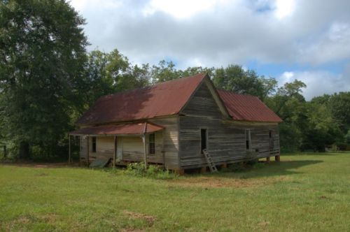 Draneville GA Marion County Vernacular Farmhouse Photograph Copyright Brian Brown Vanishing South Georgia USA 2015